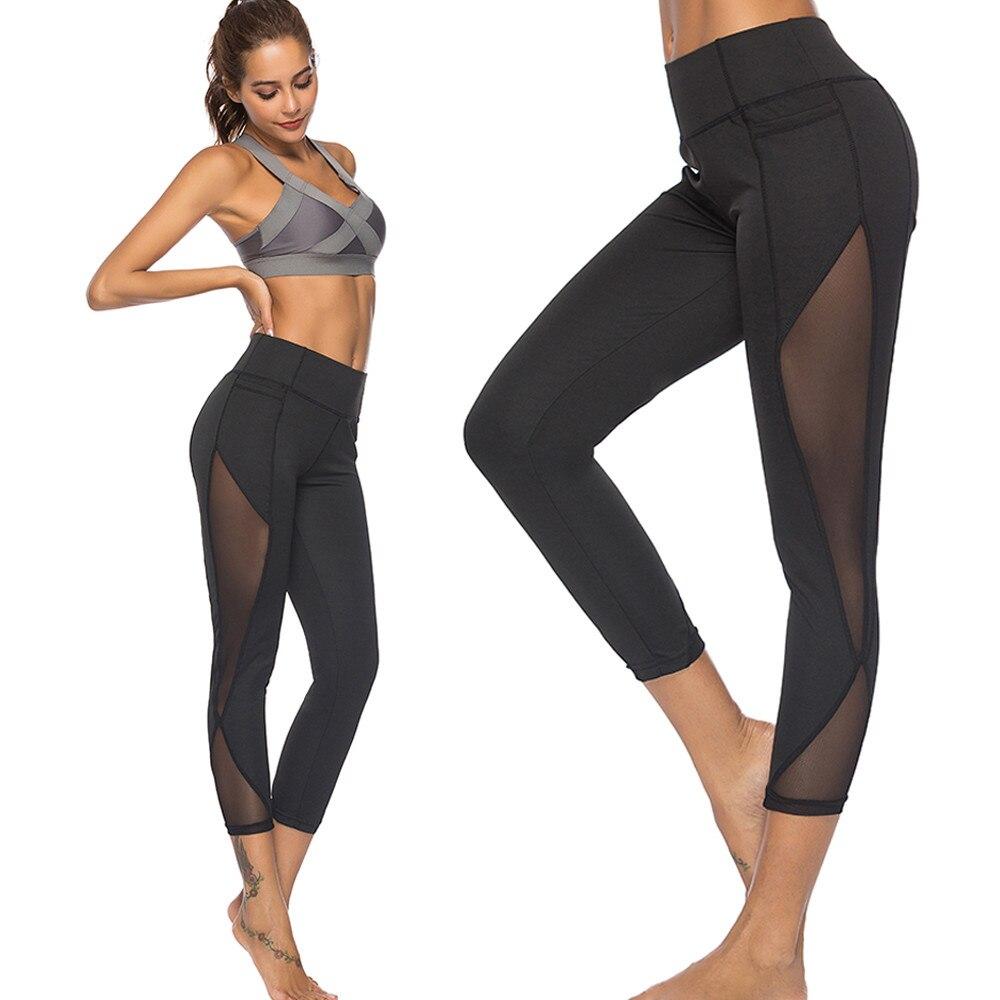 Leggings Women's Solid Color Skinny Hollow Buttocks Elastic Waist Ankle-length Casual Pants Sweatpants Leggings Medias De Mujer