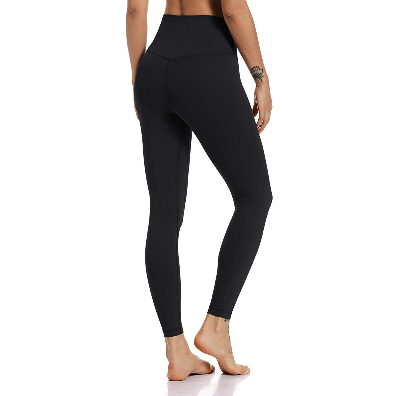 High waist yoga exercise Leggings women's Yoga Pants fitness gym solid color tights 2021 sportswear pants Running Yoga