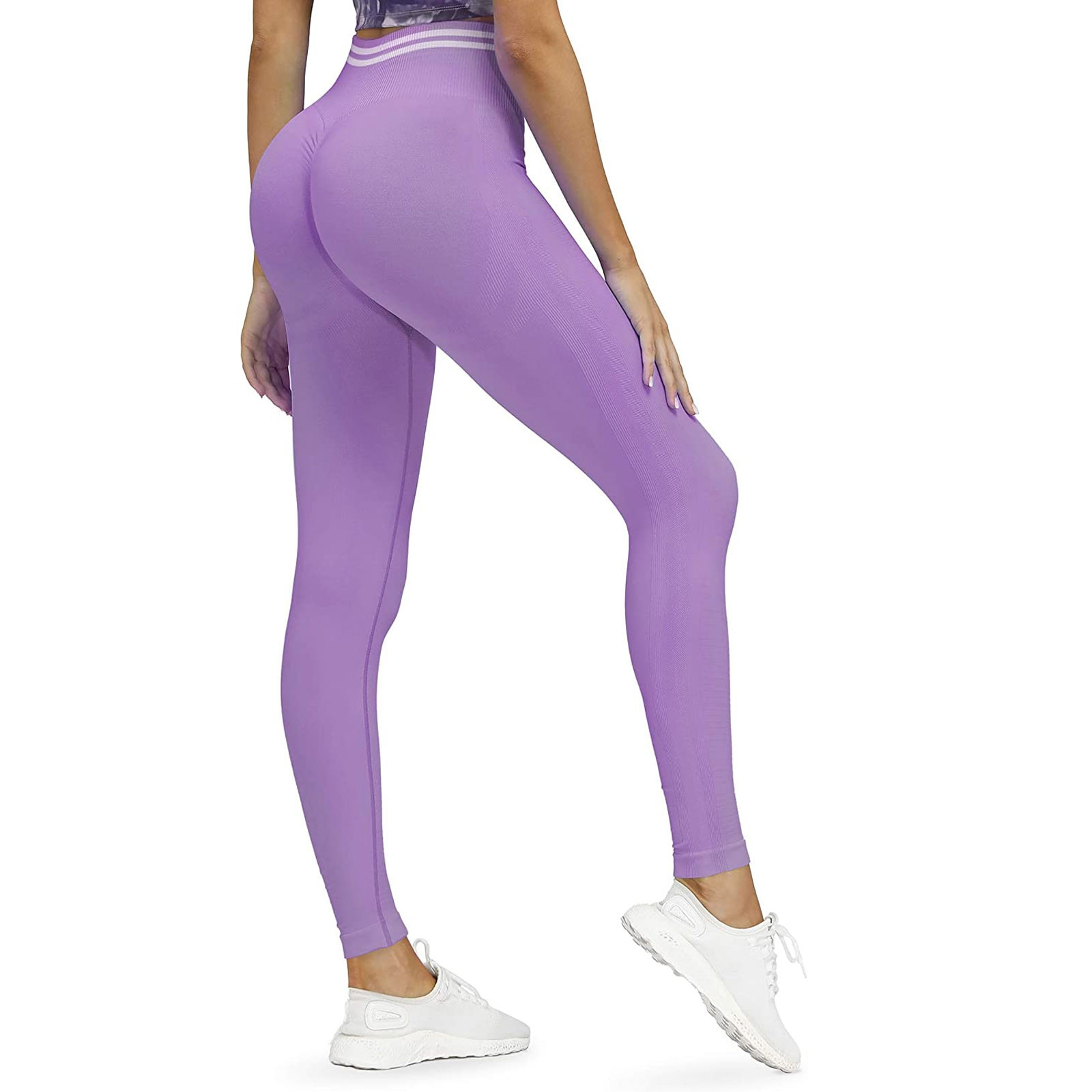 45# Women's Leggings Solid Workout Legging Fitness Sports Running Athletic Seamless Solid Woman Pants pantalones de mujer