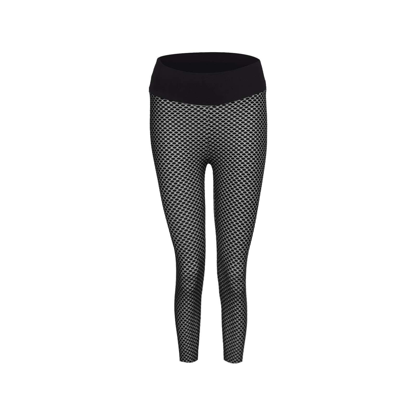 Women's Pants Stretch Fitness Running Gym Sports Pockets Active Tight Stretch Capris Cropped High Waist Elasticity Trousers R2