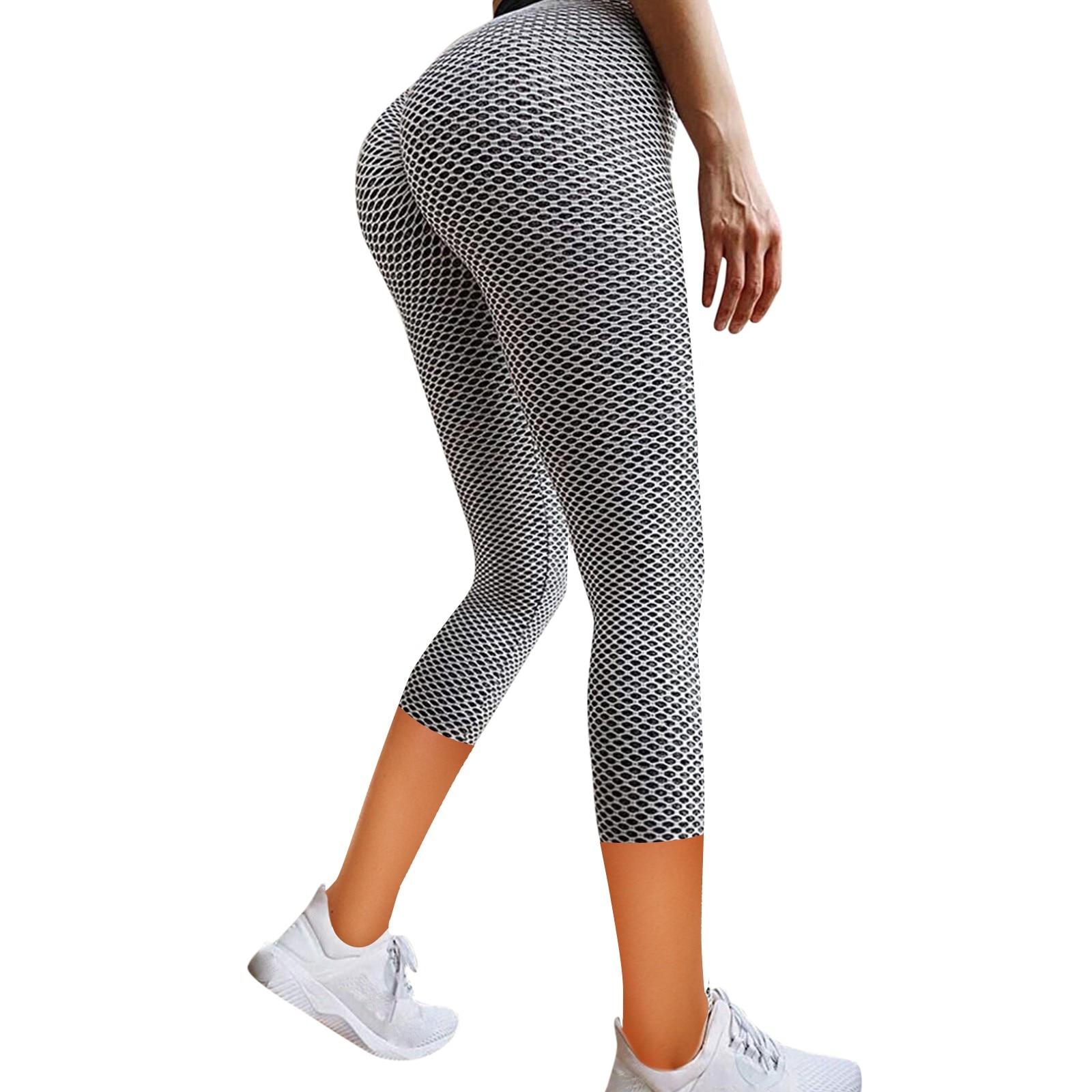 Women's Stretch Yo ga Leggings Fitness Running Gym Sports Pockets Active Pants pantalones de mujer gym clothing sport pant
