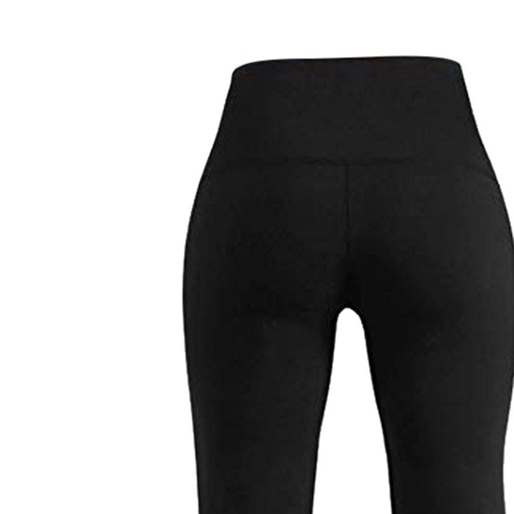 Yoga Pants Women's Sports Pants Pocket Print Leggings Fitness Sports Running High Waist Tight Trousers Workout Stretch Pants