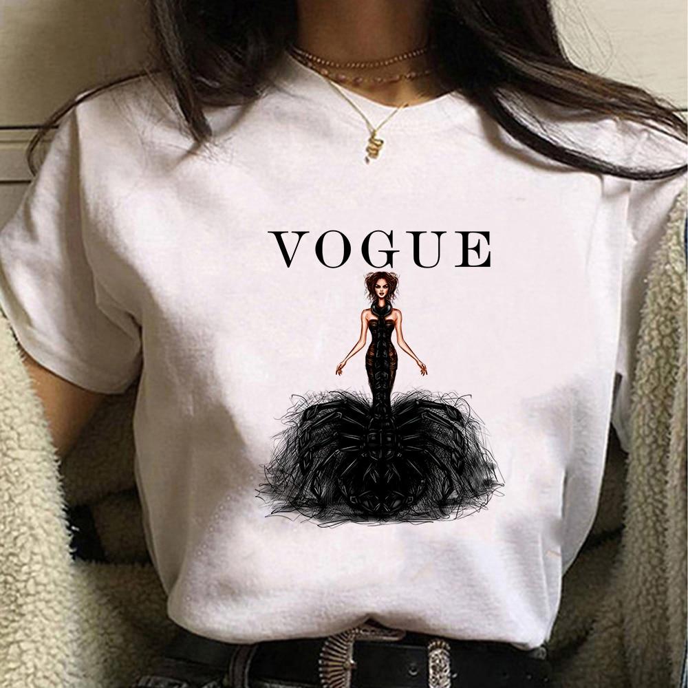 Tee Cute T Shirts Women Homme Frozen Queen Elsa Princess Anna Casual Short Sleeves Tops Cool Tshirt Summer Costume T-shirt