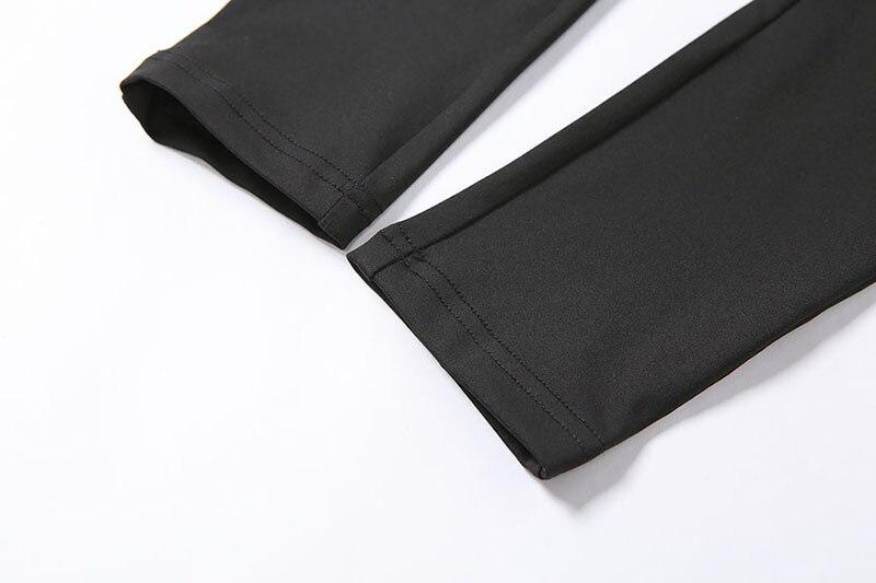 CXUEY 2020 Women Sportswear Dry Fit Fitness Suit Woman Jogging Gym Clothing Summer Workout Yoga Set Vest Leggings Kit Gray Black