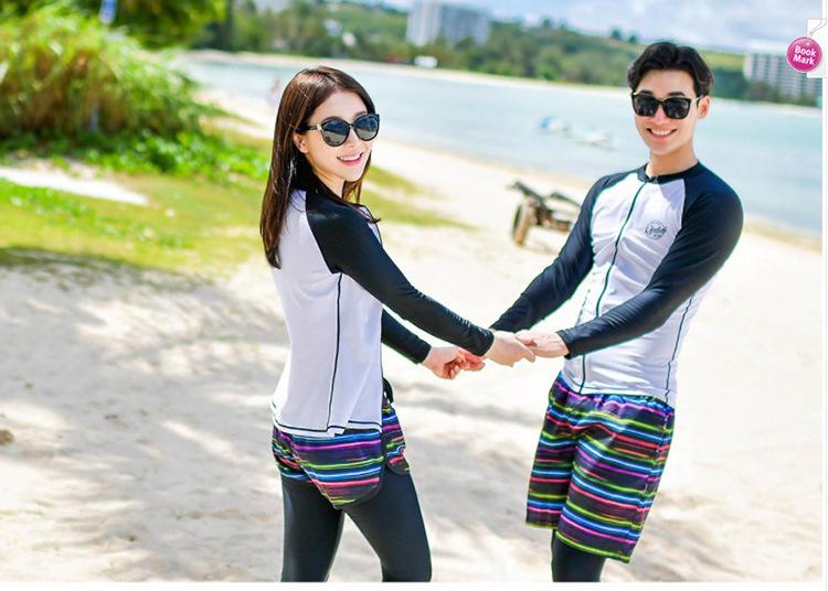 Women's Men's Swimsuit Long Sleeve 5pcs Gym Outfit Set Fitness Sportswear Yoga Kit Compression Tracksuit Rash Guards Surf Suit