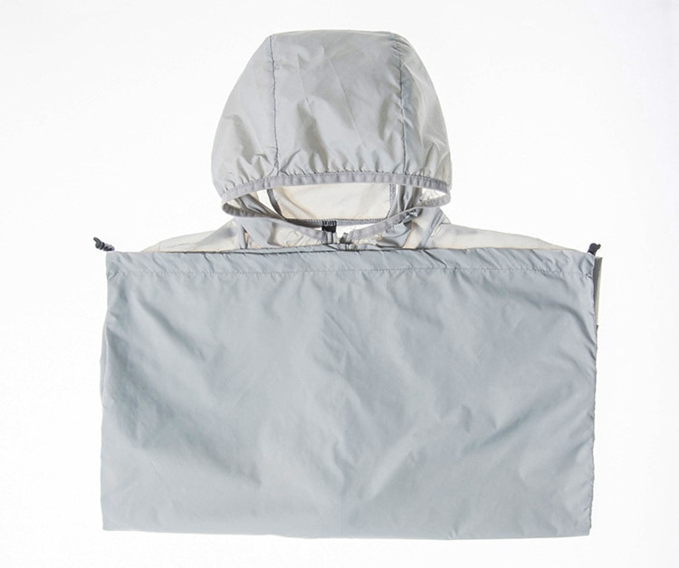 TRVLWEGO Unisex Sunscreen Clothes Men Women's Thin Sports Rainproof Quick dry Jacket 2020 Man Woman Reflective zipper at night