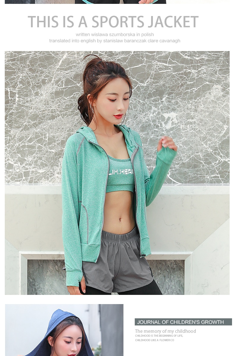 2019 new long-sleeved jacket women's shirt casual fashion sports home light and comfortable hooded loose large size coat