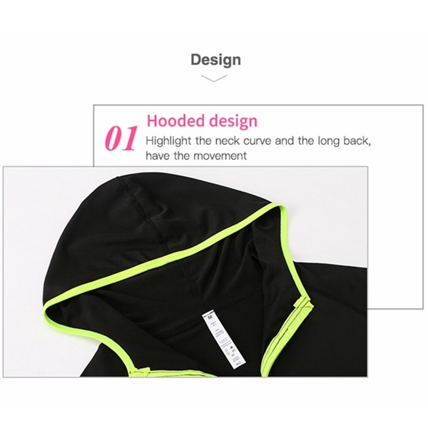 Women's Running Jacket Clothes Long Sleeve Running Hoodie Yoga Gym Fitness Tight Tops Quick-Dry Breathable Sports Coat