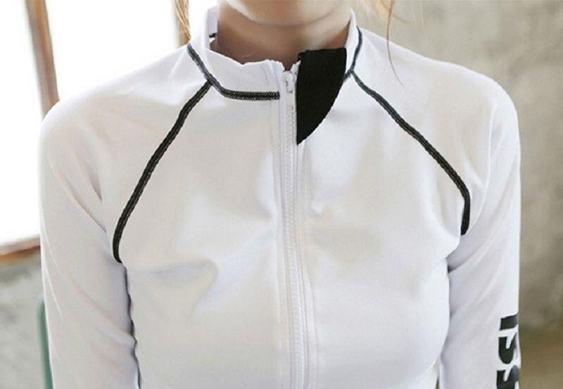 Crop Top Women  Sports Fitness Running Women's Yoga Long-SleevedTights Dry Fit Printed Fashion  Women's Sportwear Top Jacket