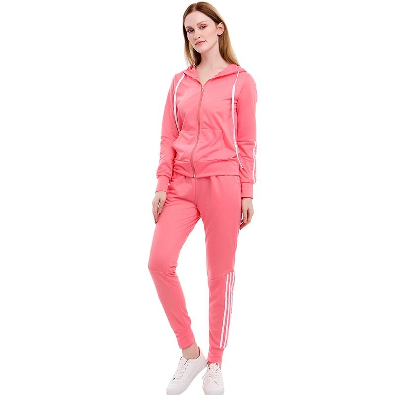 Tracksuits Women's Hoodie Pants Set Oversized Long Sleeve Sportwear Tracksuit Set 2021 Autumn Winter Suits On Fleece For Women