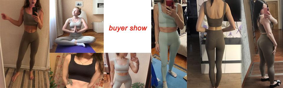 Sportswear Women Fitness Suit Yoga Set Women's Tracksuit Gym Clothing Seamless Workout Sports Bras Push UP Leggings Set