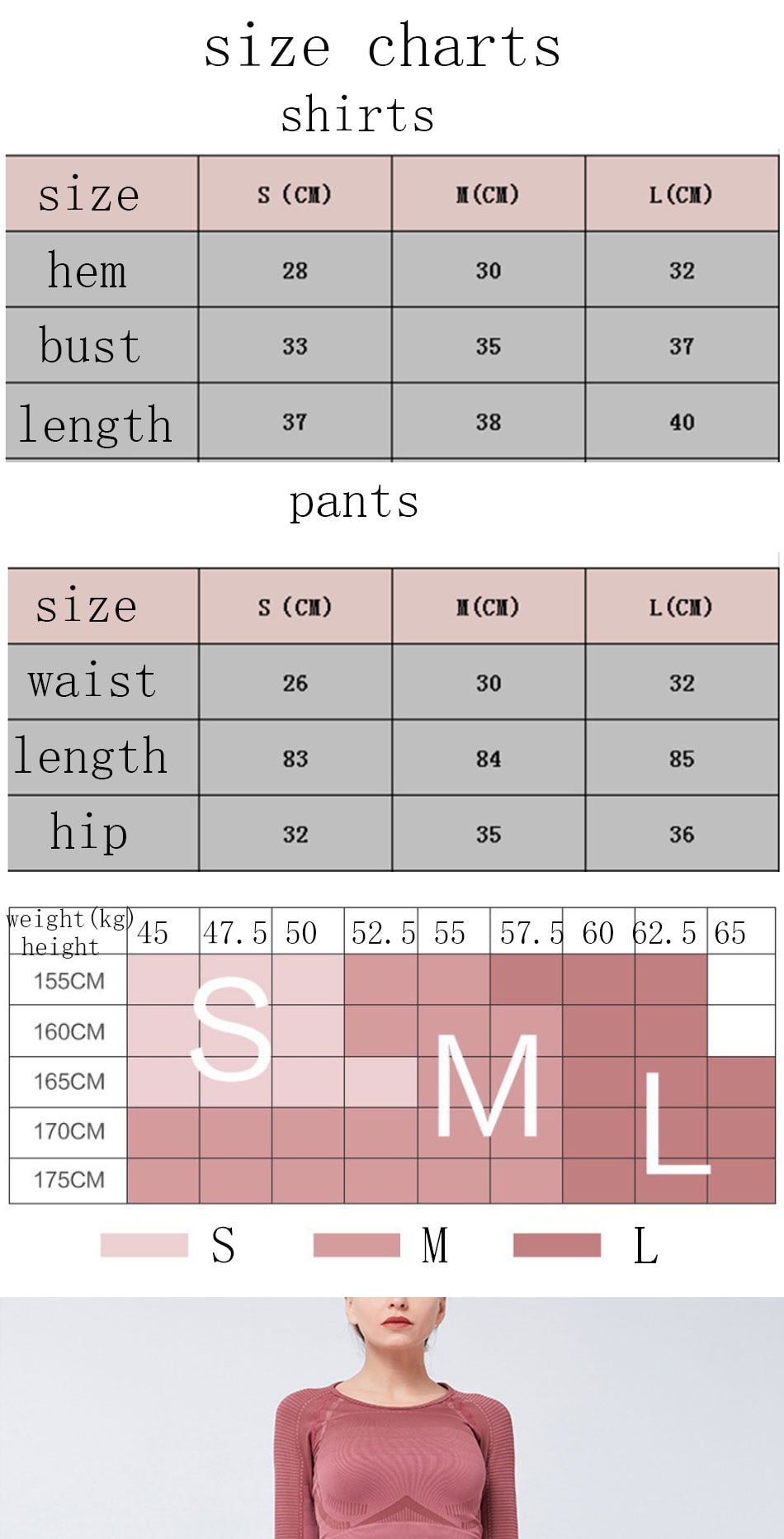 2020 New Women's Fitness Seamless Suits Long Sleeve Crop Tops Legging Pants Workout Tracksuit Yoga Suit Sports Gym Clothes