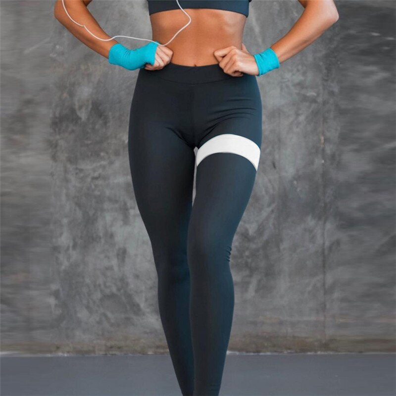 Women's Sports Suit Set Yoga Patchwork Running Fitness Costume Female Sportswear Leggings Sports Suits Tracksuit For Training
