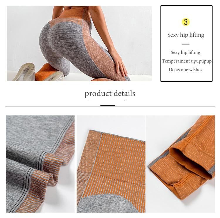 2 Piece Push Up Set Leggings Shirt Gym Sets Tracksuit Women Workout Gym Clothing Sport Clothes Fitness Suits Women's Sportswear