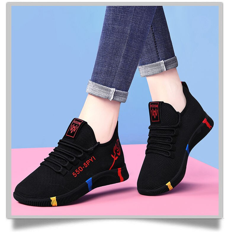 Women's Running Shoes Light Sneakers Soft Soles Sports Shoes Breathable Mesh Sport Shoes Fashion outdoor Casual Walking Shoes
