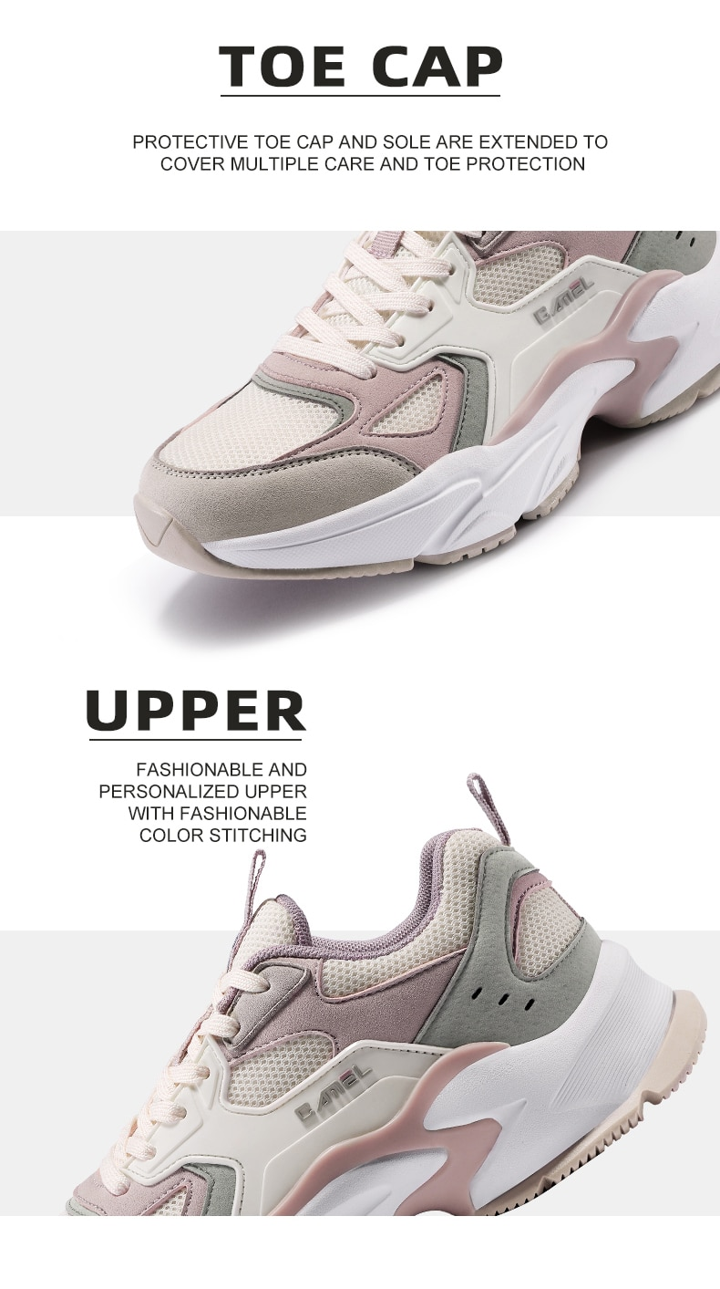 CAMEL Official Original Chunky Sneaker Men Women Outdoor Casual Sports Running Shoes Women's Sneakers Unisex Breathable Footwear