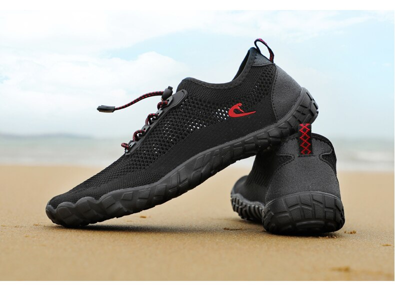 Men's Water Shoes Barefoot Swimming Women's Upstream Shoes Breathable Hiking Sports Shoes Quick-drying River Sea Water Swimming