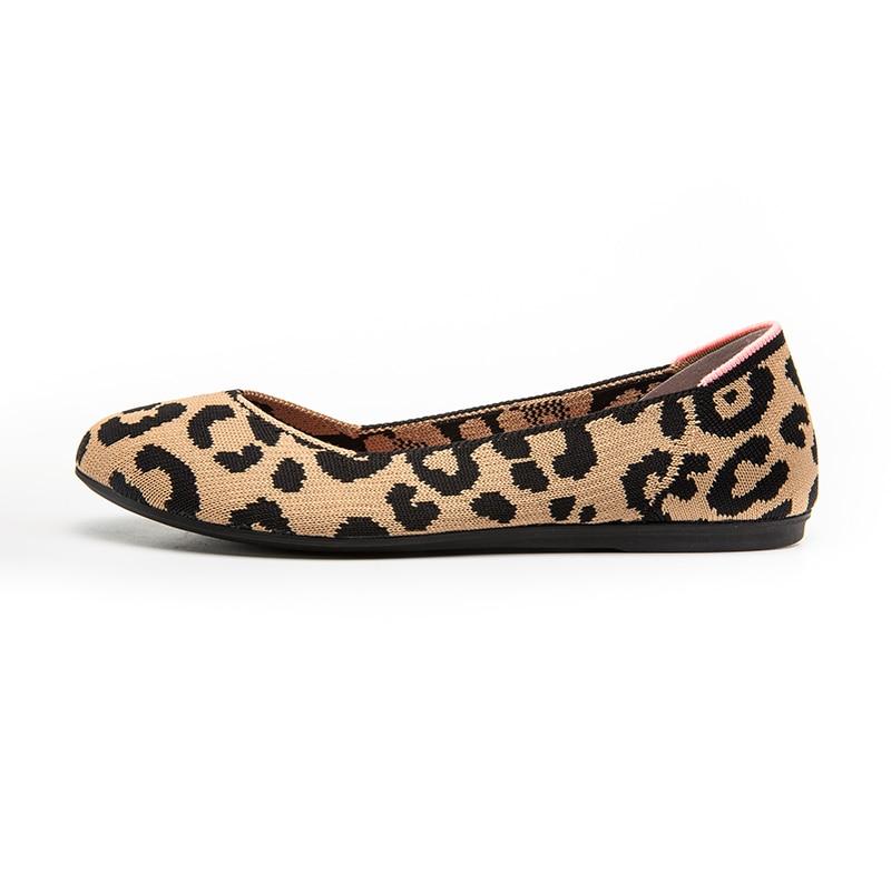 2021 Women's Loafers flat Shoes Zapatos De Mujer Autumn Round Ballerine Femme Casual Black Ladies weaving Tenis Feminino