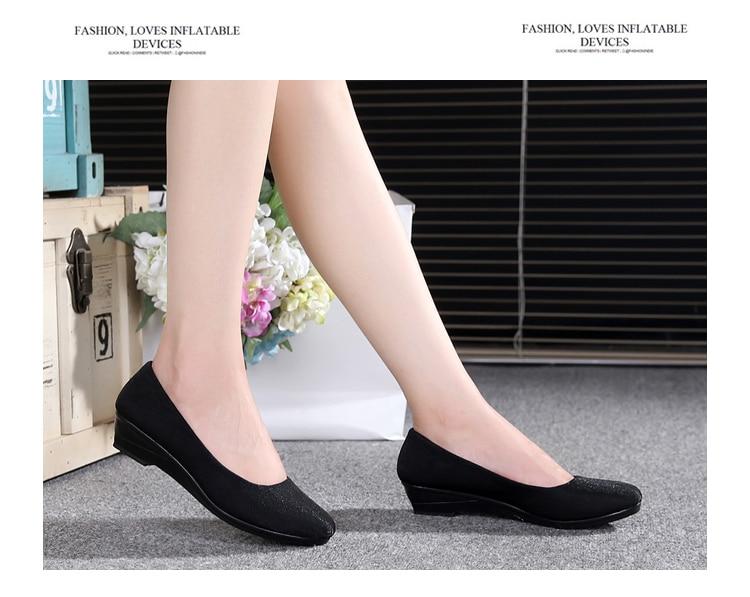 OrientPostMark Women Ballet Flats Shoes Women Shoes Office Cloth Sweet Loafers Women's Flats Ballet Pregnant Flats Shoes Boat