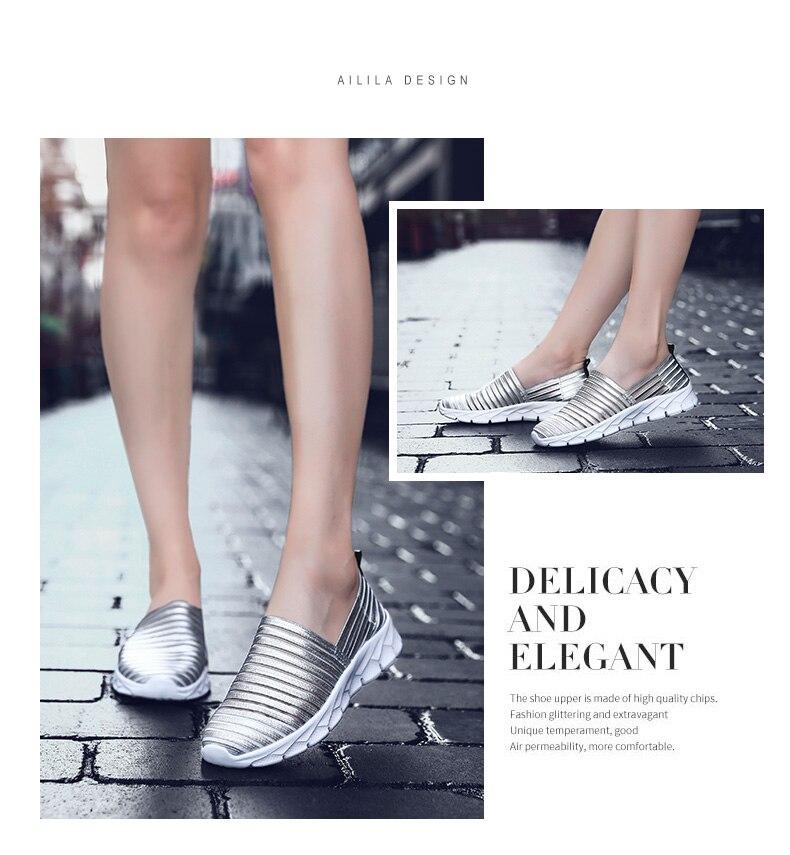 Damyuan Shoes Woman Women's Flats Sock Sneakers Lightweight Summer Loafers Walking Flat Shoes Ladies House Shoes Women Shoes 41