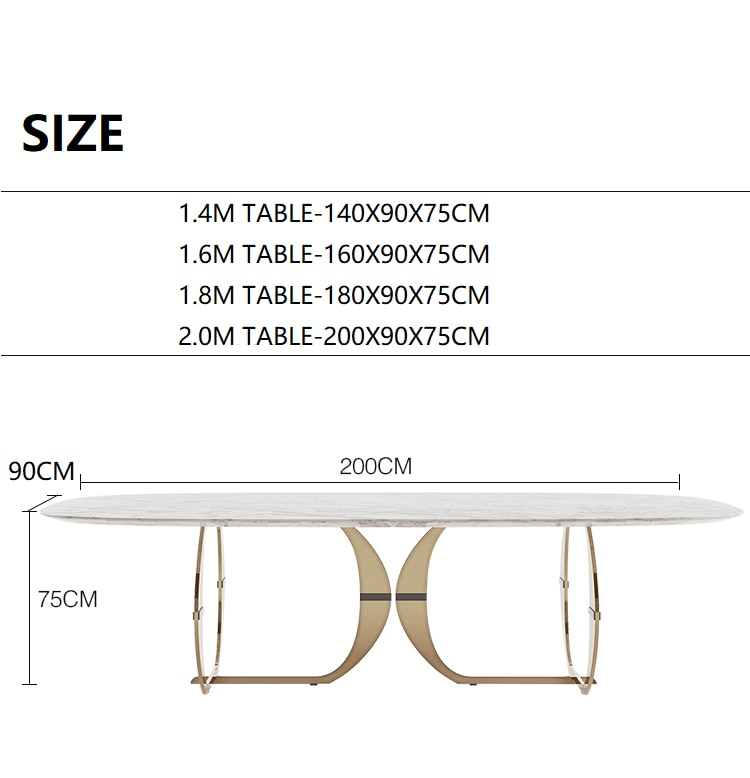 Italian gold stainless steel wedding dinning tables sets luxury 6 chairs modern marble dining table set