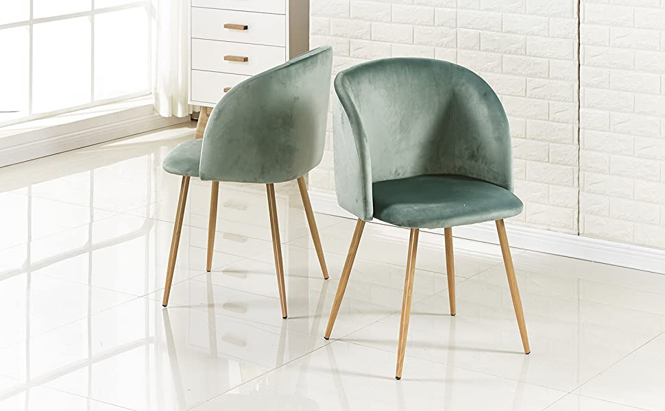 Dining Chairs Velvet Armchairs Nordic Pink Gold Metal Chair Legs for Dressing Living Room Bedroom Kitchen Dining Salon