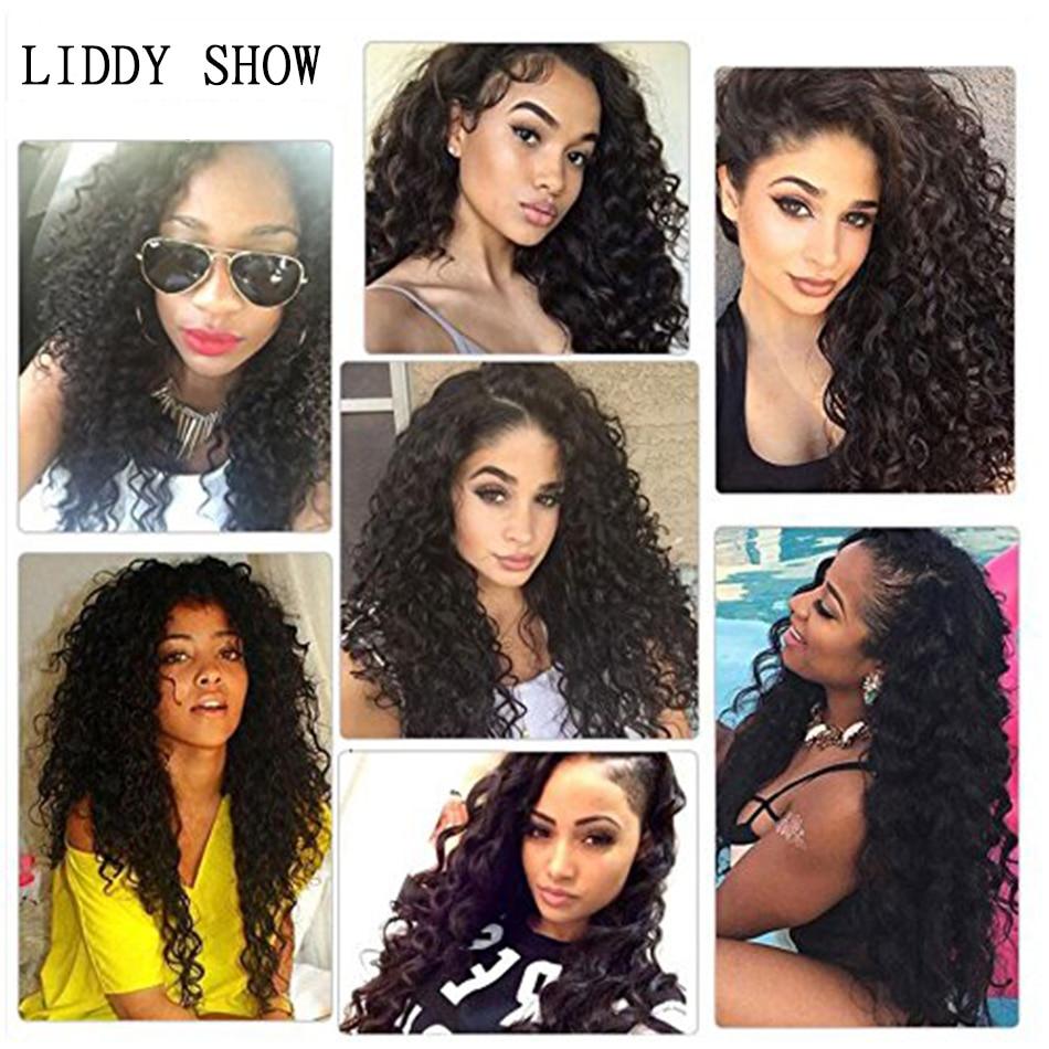 Water Wave Bundles Brazilian Hair Weave Bundles Liddy Water Wave 30 inch Hair Extensions For Black Women Human Hair Bundles
