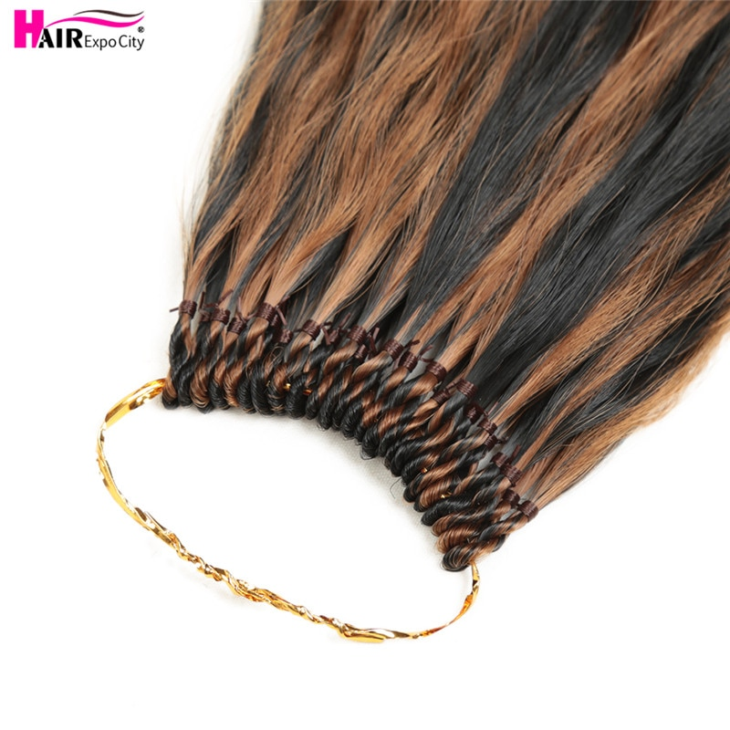 20 Inch Kinky Straight Crochet Hair Pre Looped Natural Synthetic Braid Hair Ombre Braiding Hair Extensions Hair Expo City