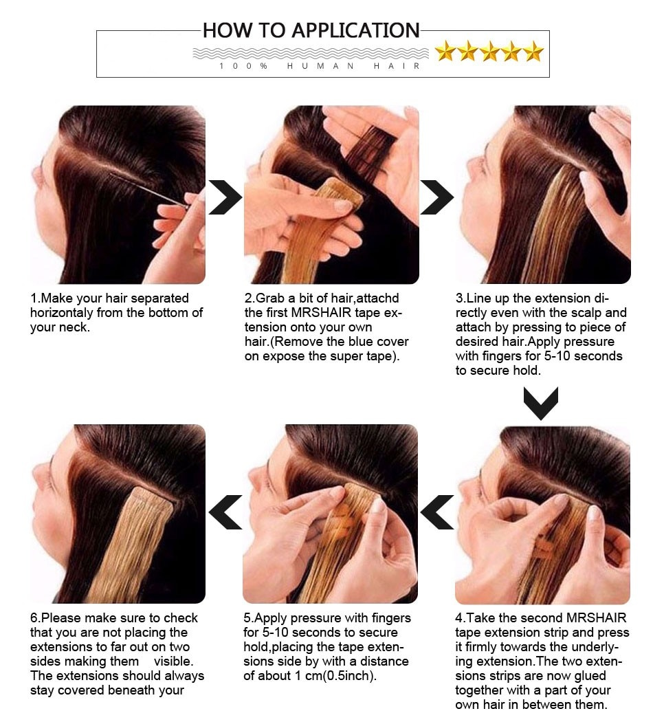 Showoff Human Tape Hair Extension Factory Cheap Wholesale Straight Skin Weft 20pcs/Lot