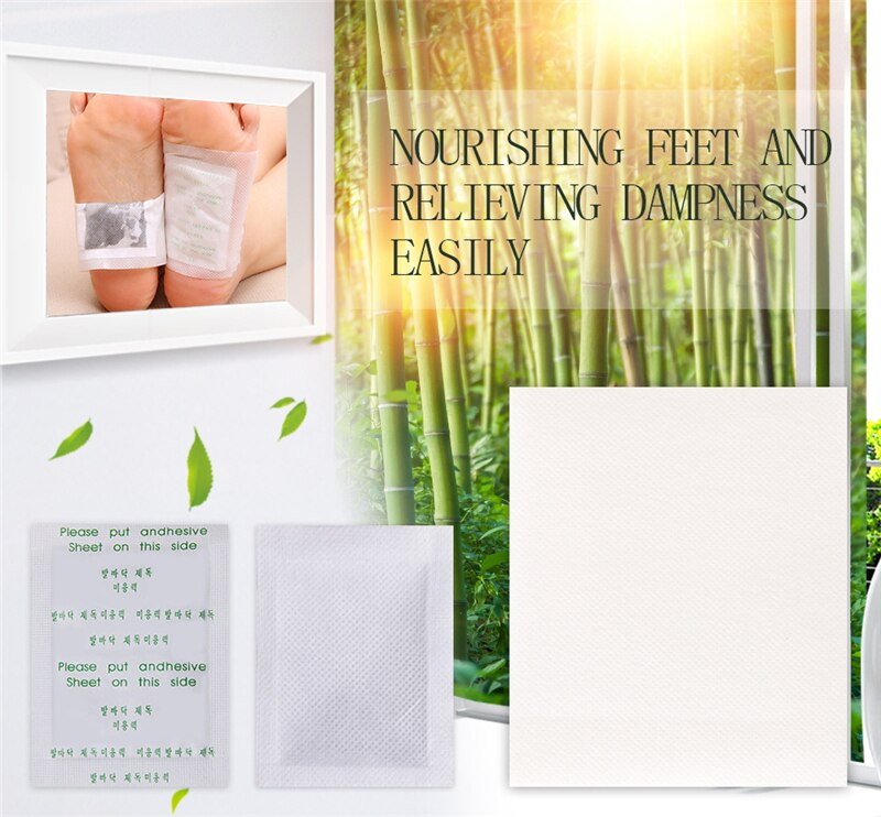 Detox Foot Patches Weight Loss Pads Body Toxins Anit Cellulite Herbal Adhesive Slim Patch Fat Burner Weight Loss Belly Waist
