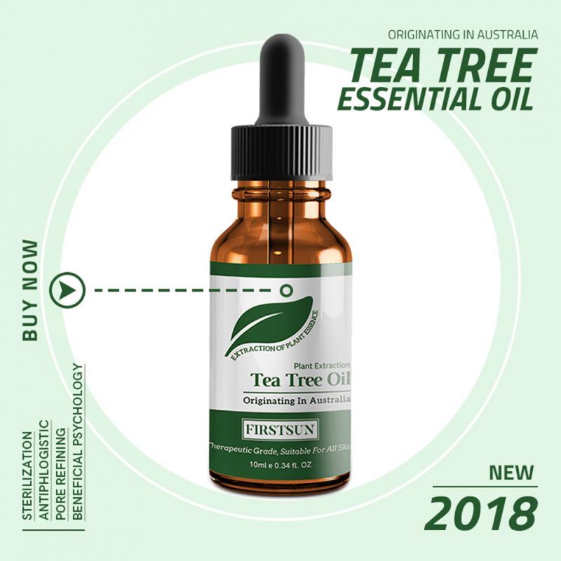 Tea Tree Essential Oil Natural Fade Acne Shrink Pores Repair Moisturizing Anti-wrinkle Skin Care Massage Oil For Any Skin TSLM1