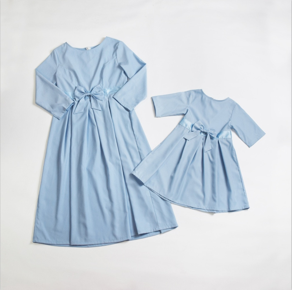 Kids Child Outfits  Mother Daughter Dresses Clothes  Mom Dress  Mum Sister Baby Girl Dresses Mommy And Daughter Family Matching