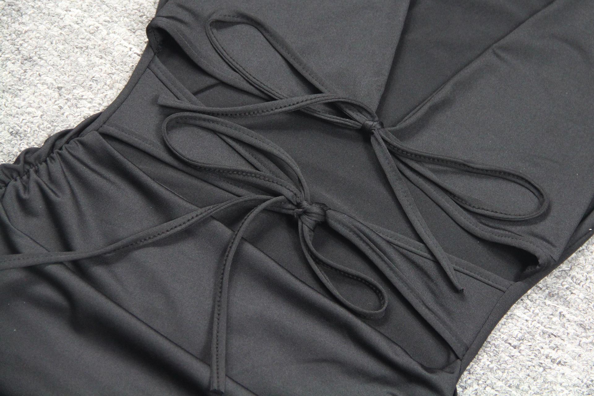 Women Summer Ruffles Cut Out Design Leopard Print Dress Elegant Fashion V-neck Ruffle Party Mini Dress Ladies Holiday Beach