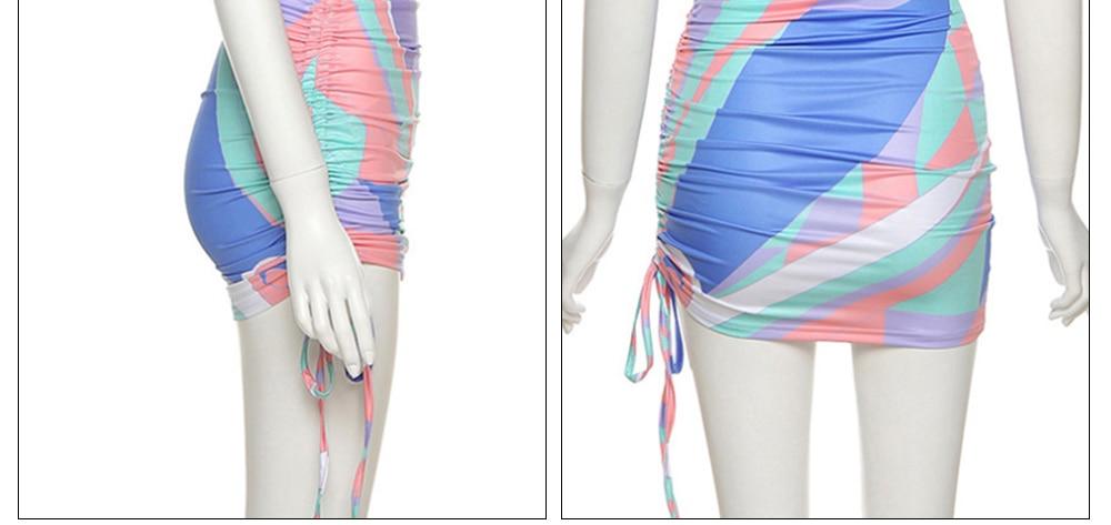 Halter Sexy Dress 2021 Summer Cross Bandage Dresses For Women Party Fashion Hollow Out Slim Hip Off Shoulder Wrap Vestido Black