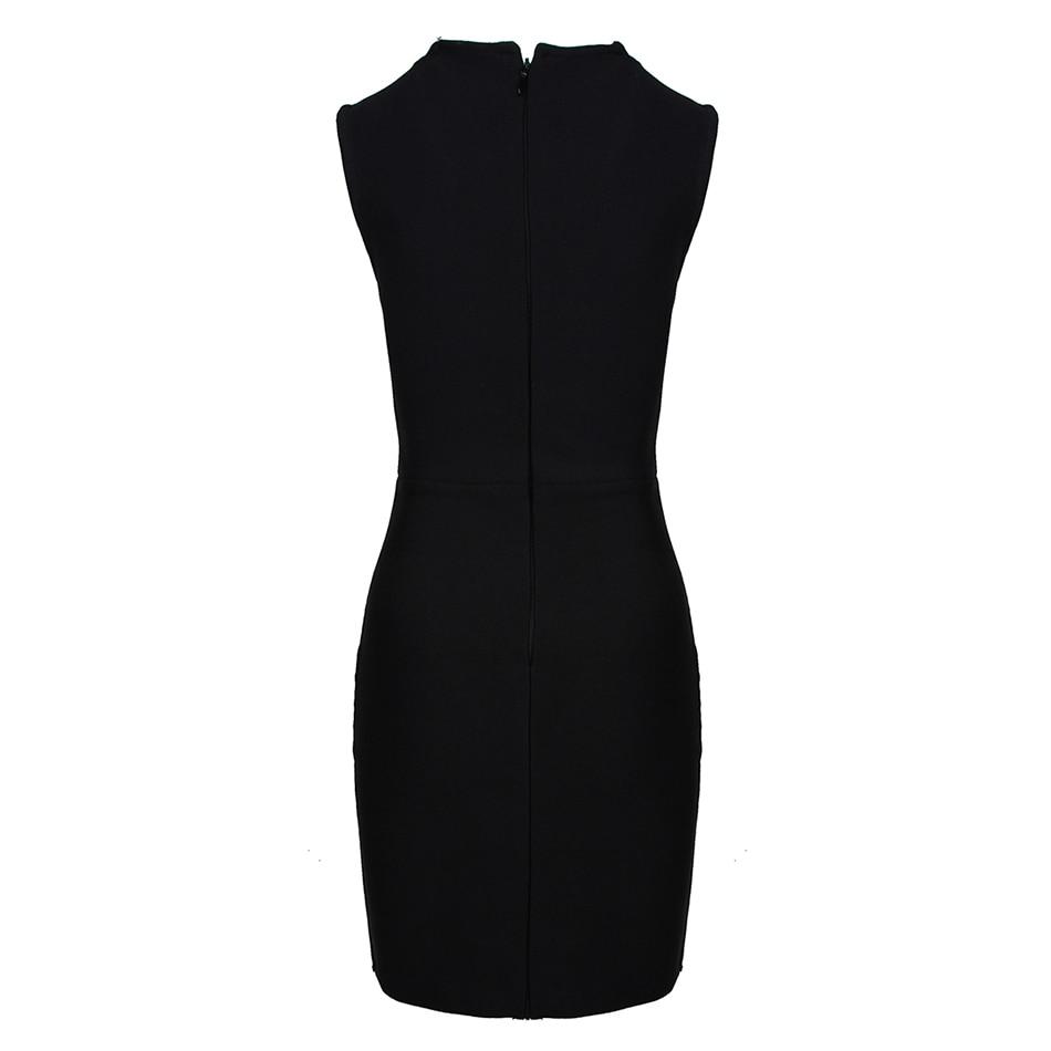 Summer Women Knitted Slim Club Bandage Dress 2021 Elegant Sexy Sleeveless Black Tank Bling Bling Celebrity Evening Party Dress