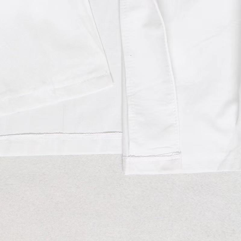 Spring Summer  Solid Color Elegant Lantern Sleeve  Casual Sexy OL Commuter Irregular Bandage  Temperament Shirt Dress White  Bl