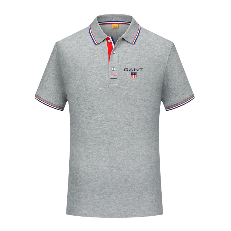 2021 new eden men polo shirt short homme polo classic park casual and comfortable male t large size S-4XL