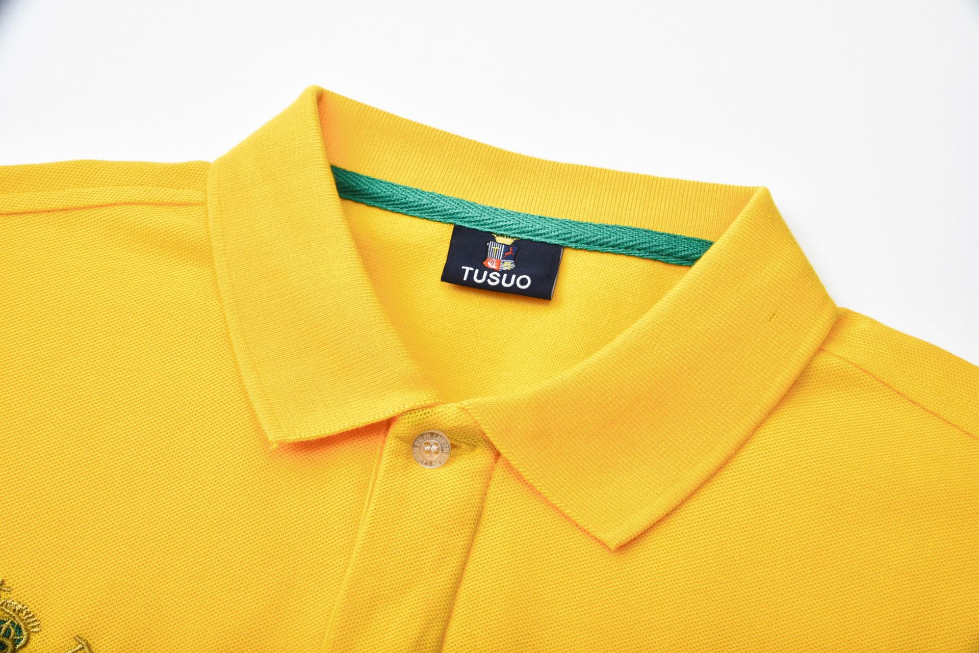 Business Casual Solid Color Cotton Short Sleeve POLO Men 2021 Summer High Quality POLO Shirt Men Fashion Embroidery Men's Polo