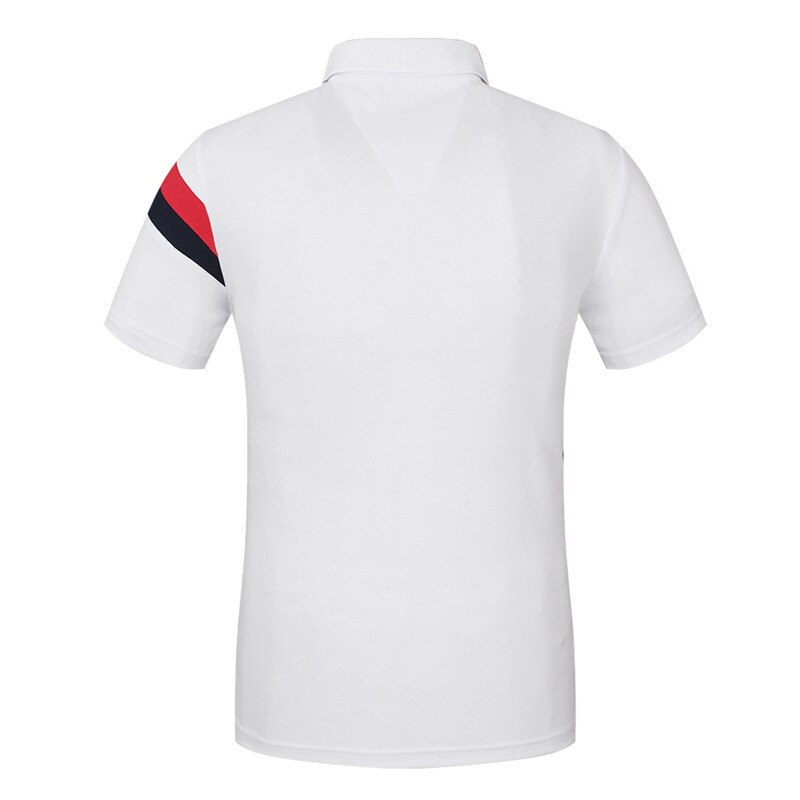 2021 Summer New Men's Wear-Resistant Comfortable Breathable  Classice Business Casual Short-Sleved Polo Shirt M-3XL